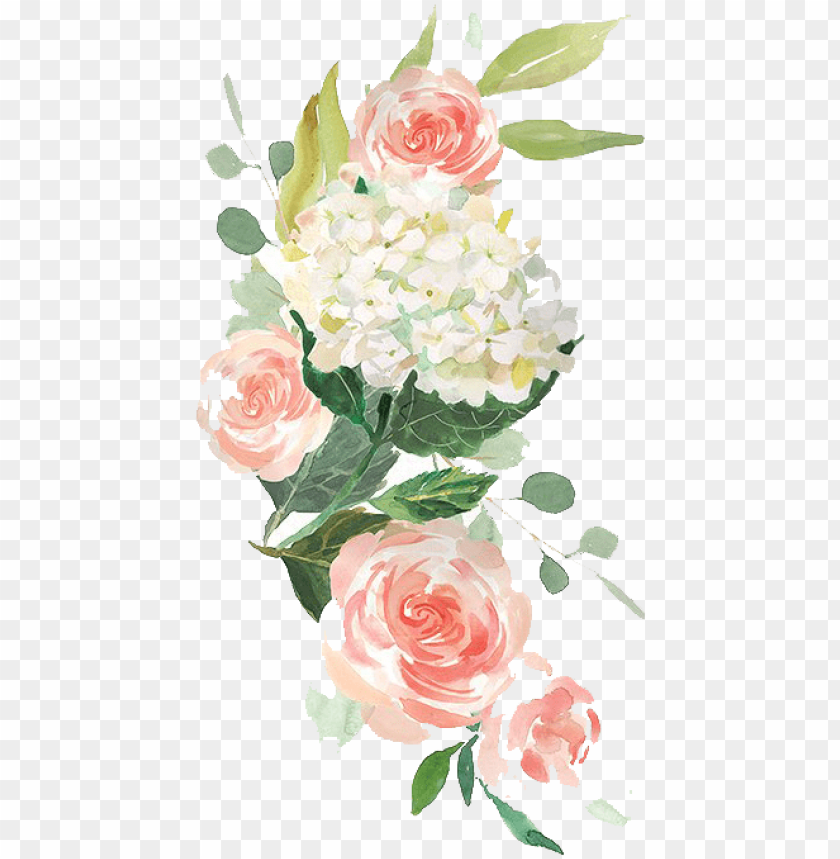 free PNG free elegant watercolor flowers twitter background - free watercolor flower vector transparent background png - Free PNG Images PNG images transparent