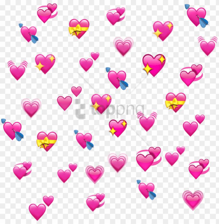 free png download emoji klemmbrett png images background - heart
