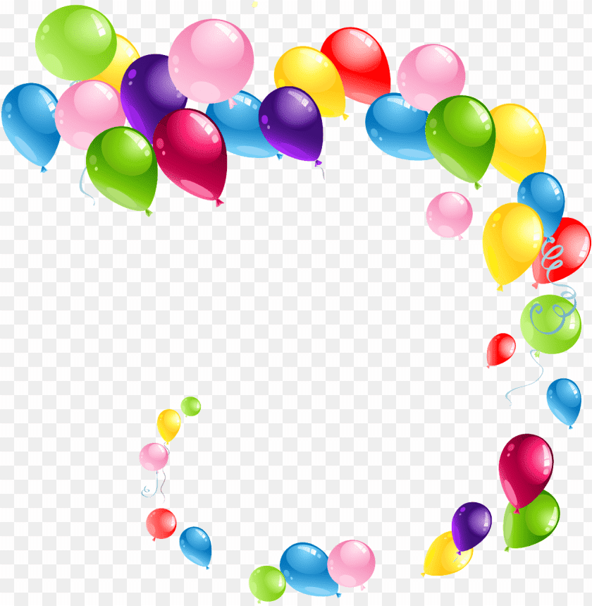 Flying Spiral Balloons png - Free PNG Images | TOPpng