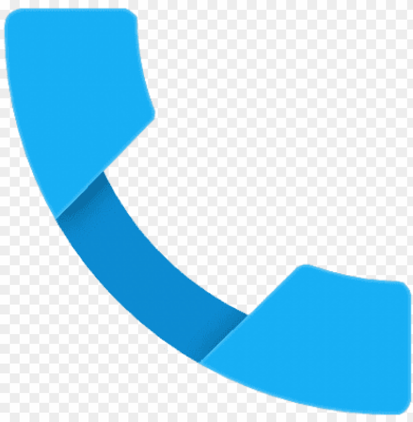 free PNG free png phone icon android lollipop png images transparent - phone icon in blue colour PNG image with transparent background PNG images transparent