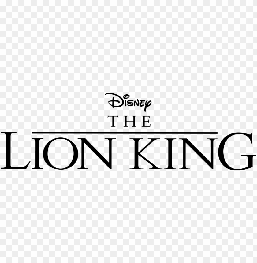 free PNG free png the lion king logo png images transparent - lion king logo transparent background PNG image with transparent background PNG images transparent