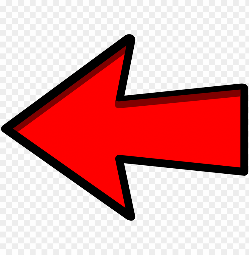 free PNG red arrow left png PNG image with transparent background PNG images transparent