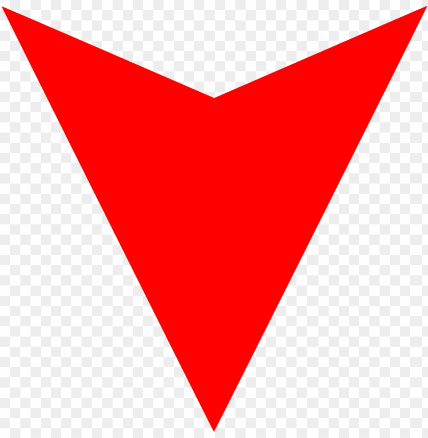 free PNG red down arrow small png PNG image with transparent background PNG images transparent