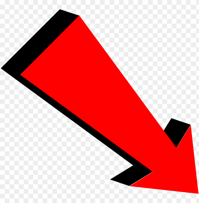 free PNG free red and black down arrow png PNG image with transparent background PNG images transparent