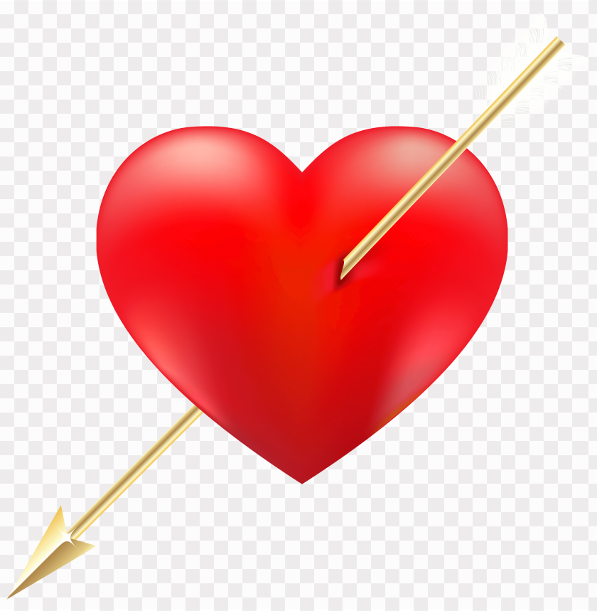 free PNG red heart arrow down png image PNG image with transparent background PNG images transparent