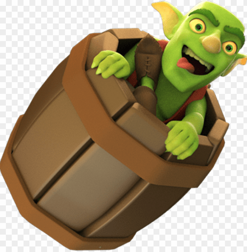Full Goblin Barrel Png Goblin Clash Royale Png Image With