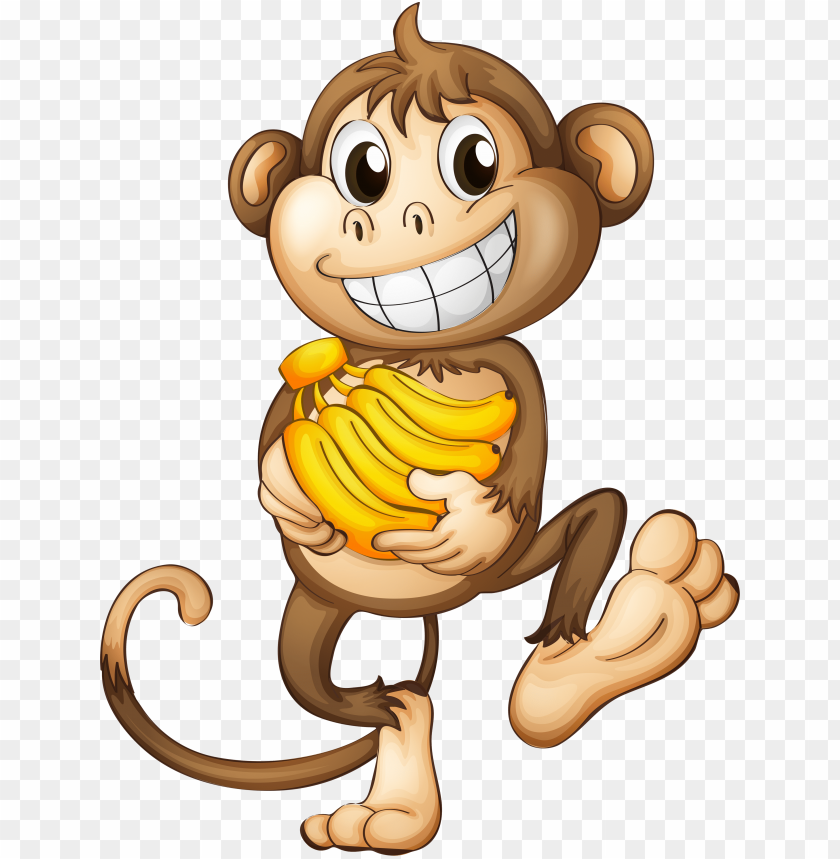 free PNG fun clipart funny monkey - monkey PNG image with transparent background PNG images transparent