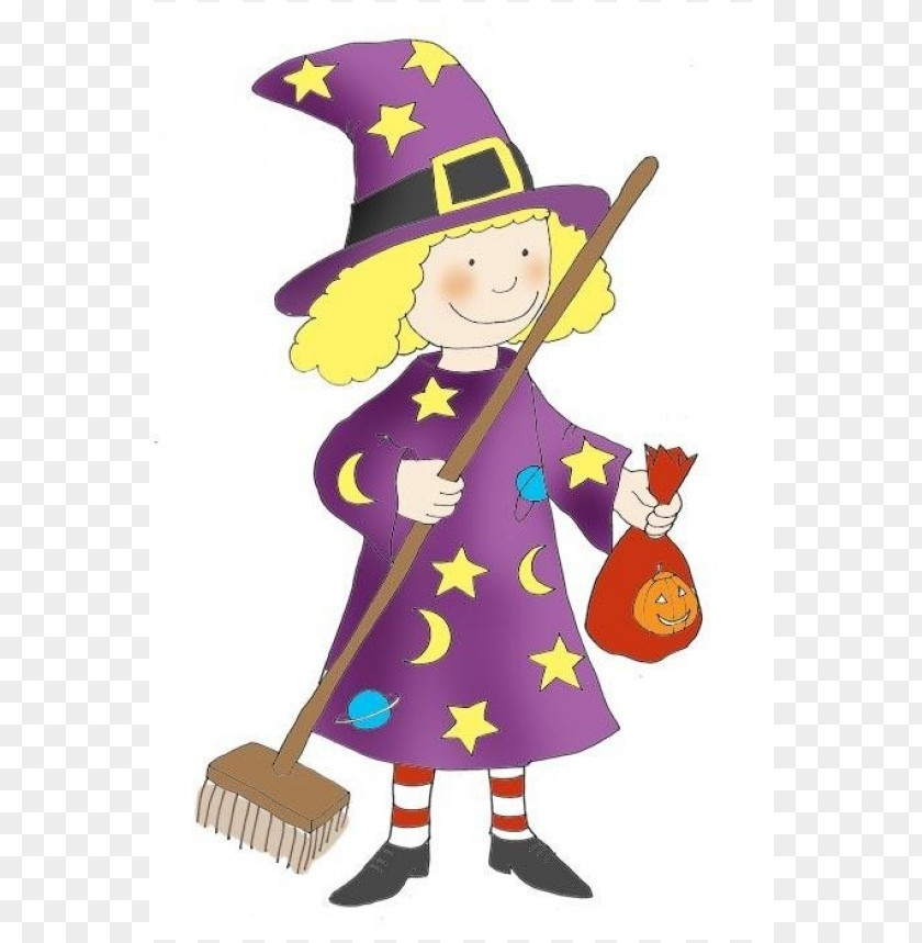 free png fun halloween witch  kid PNG images transparent