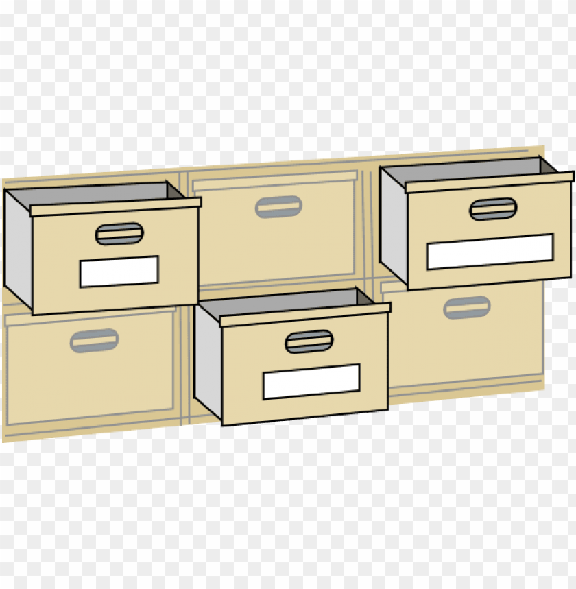 free PNG Download furniture file cabinet drawers  at clker com vector  vroarq clipart png photo   PNG images transparent