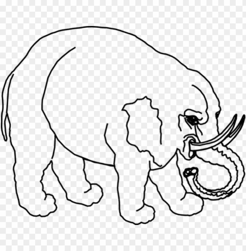 free PNG Download gajah kartun vektor hitam png images background PNG images transparent
