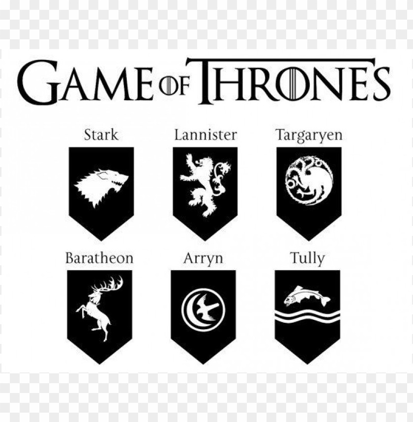 Game Of Thrones Logo Vector Png Free Png Images Toppng