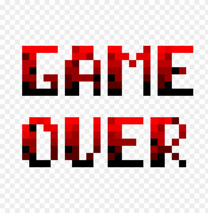 Game Over Png Image With Transparent Background Toppng