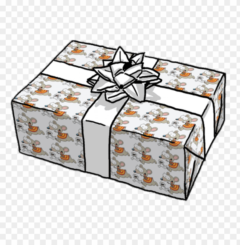 free PNG gift in toopy & binoo wrapping paper PNG image with transparent background PNG images transparent