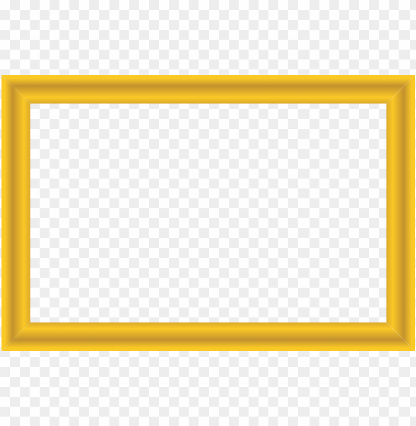 gold border frame png - Free PNG Images | TOPpng
