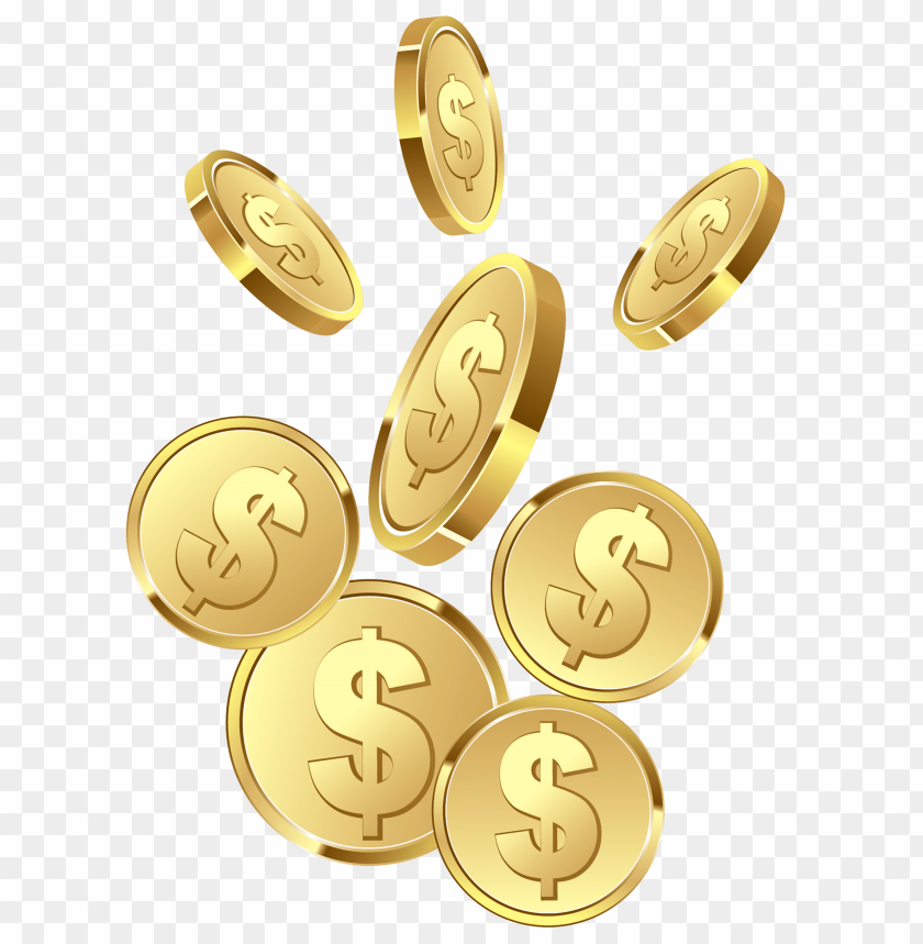 Free Png Gold Coins PNG Images Transparent