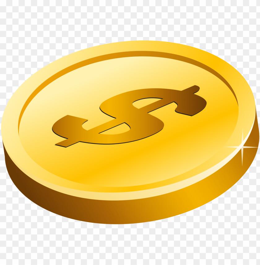 free PNG gold dollar png - Free PNG Images PNG images transparent