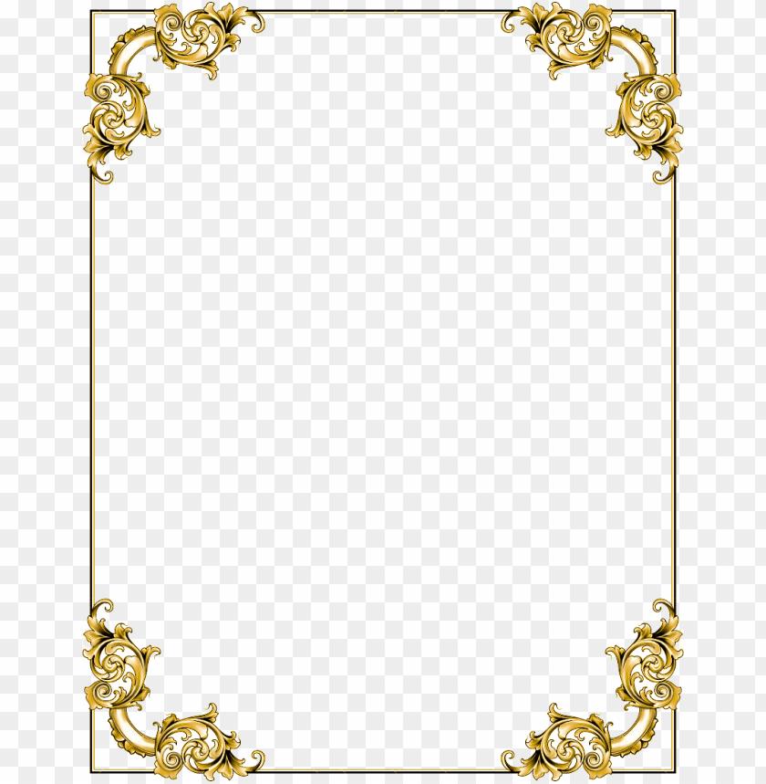 5433db8d4c0 free PNG gold frame png border transparent png - Free PNG Images PNG images  transparent