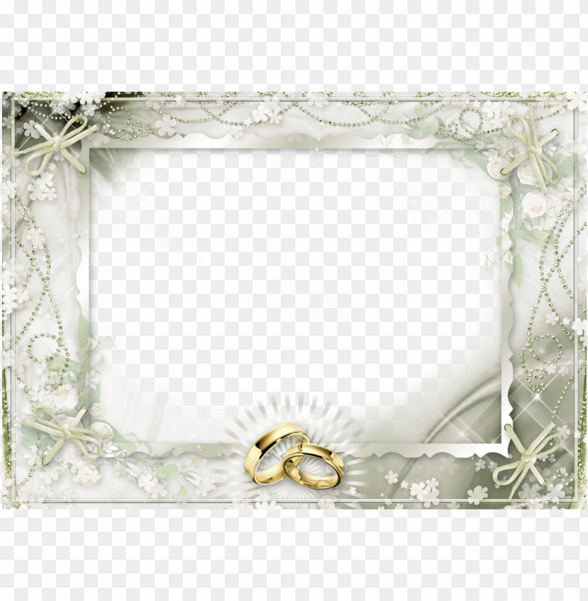 Gold Wedding Frames Png Png Image With Transparent