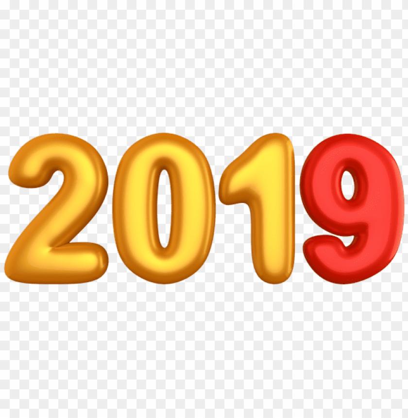 free PNG Download golden 2019 png images background PNG images transparent