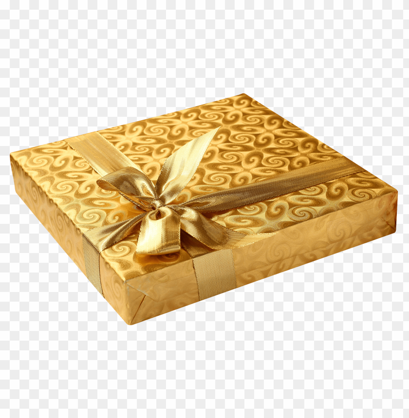 Download Golden Birthday Gift Png Images Background Toppng