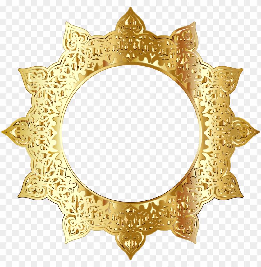 2019 زخرفة ذهبية Png