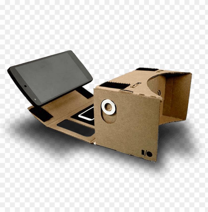 free PNG Download google cardboard vr with smartphone png images background PNG images transparent