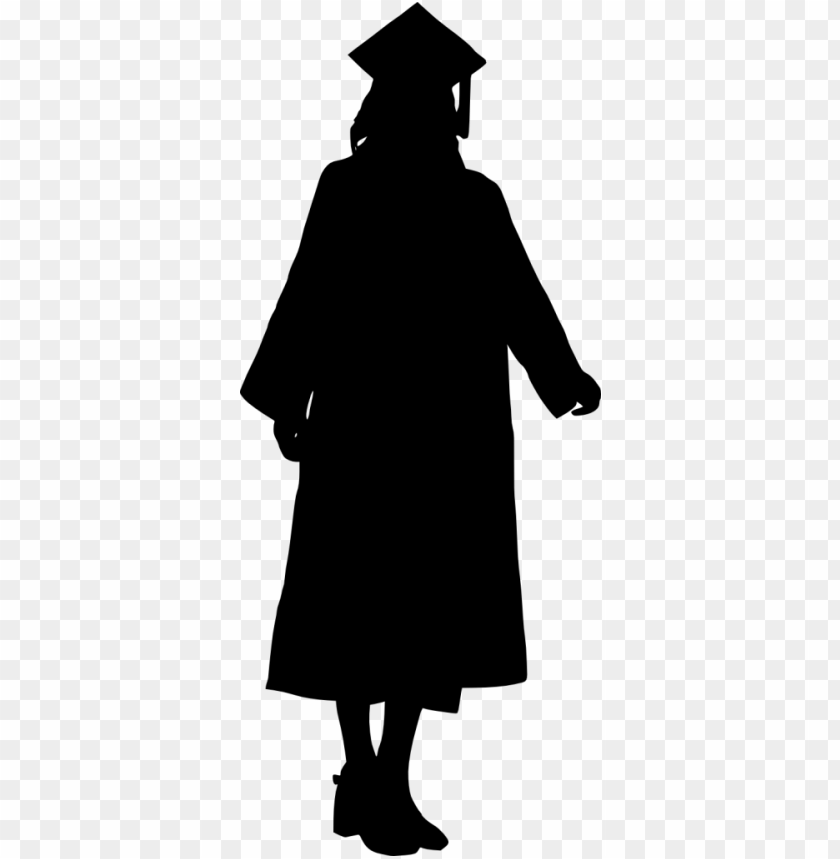 graduation silhouette png - Free PNG Images | TOPpng