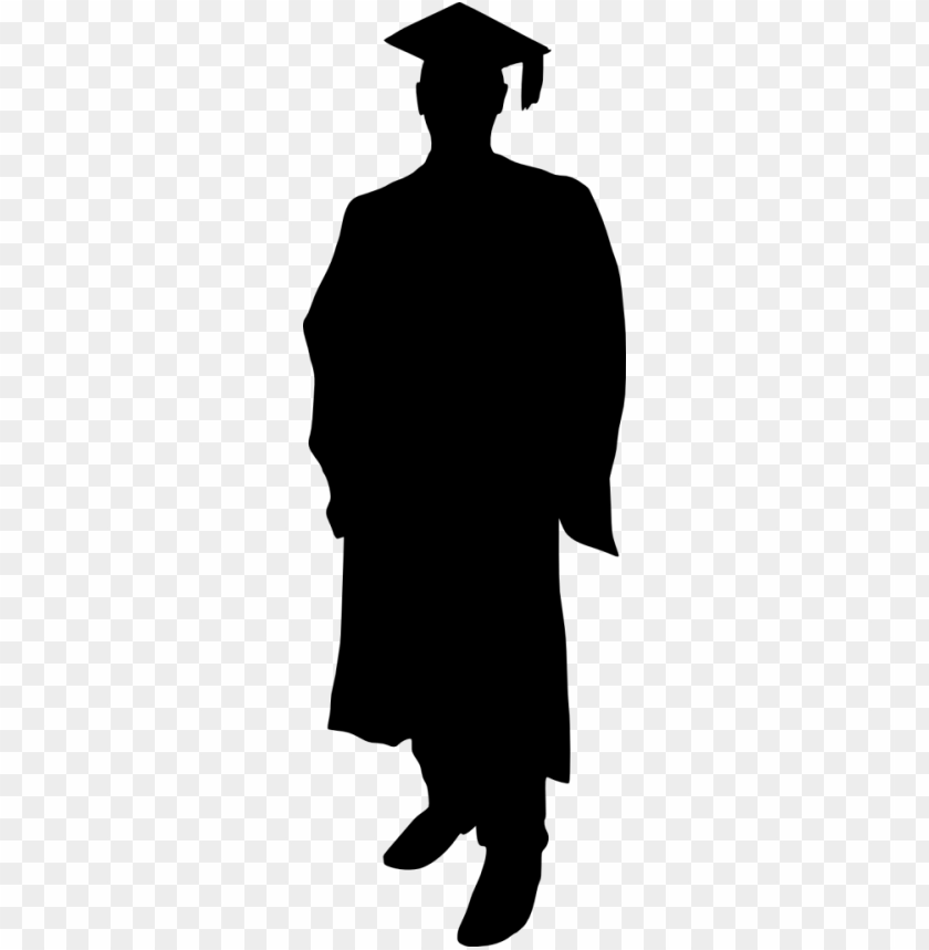 graduation silhouette png - Free PNG Images   TOPpng