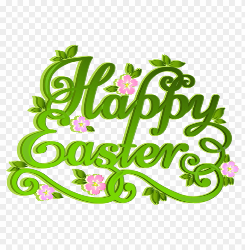 free PNG Download green happy easter transparent png images background PNG images transparent