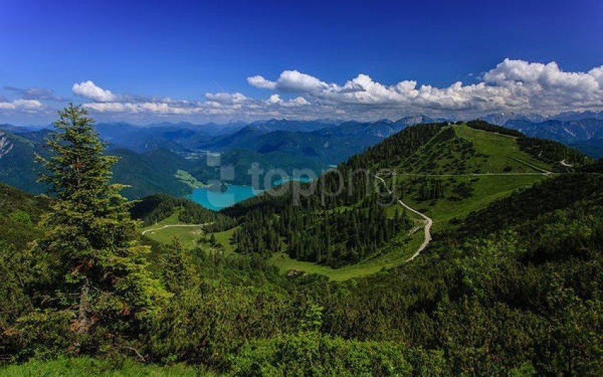 free PNG green mountain landscape wallpaper background best stock photos PNG images transparent