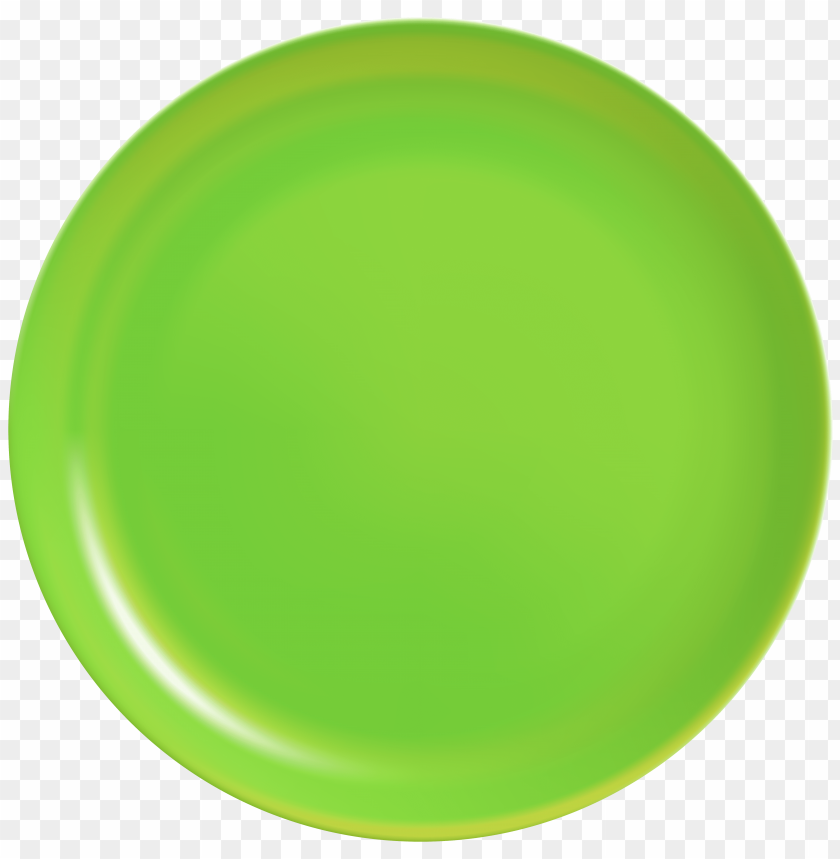 free PNG green plate PNG images transparent