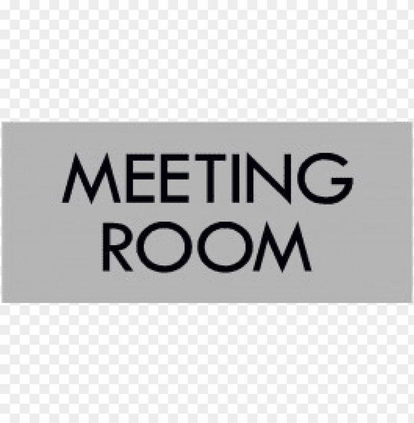 free PNG grey meeting room sign PNG image with transparent background PNG images transparent