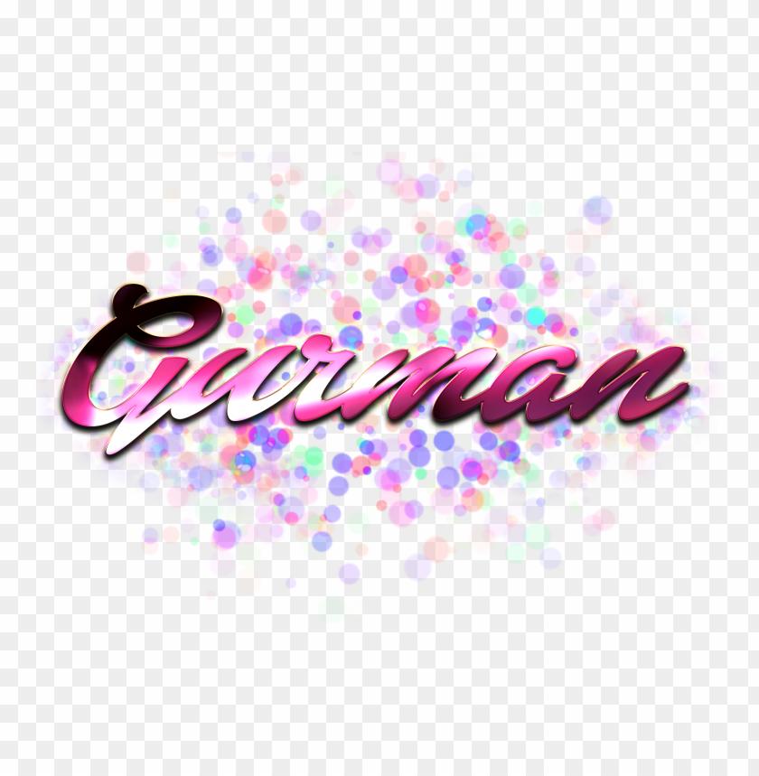 Download gurman name logo bokeh png png images background | TOPpng