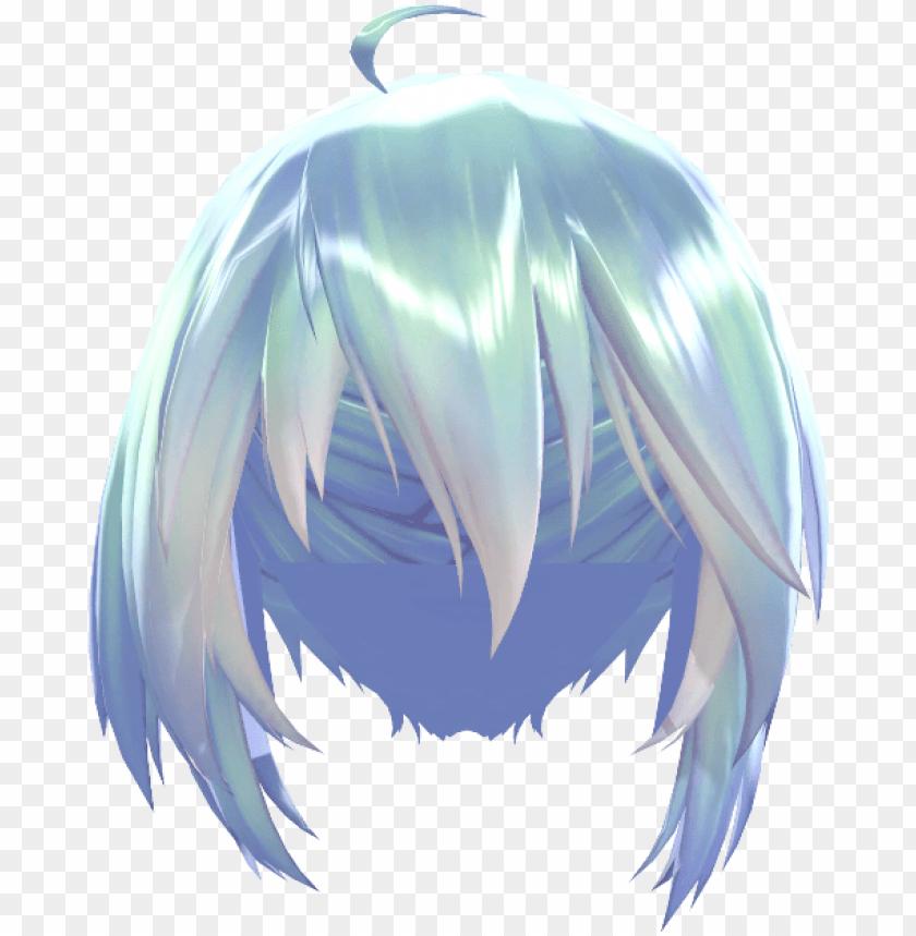 hair png, pigtails hair, pigtail hairstyles, braid - mmd tda
