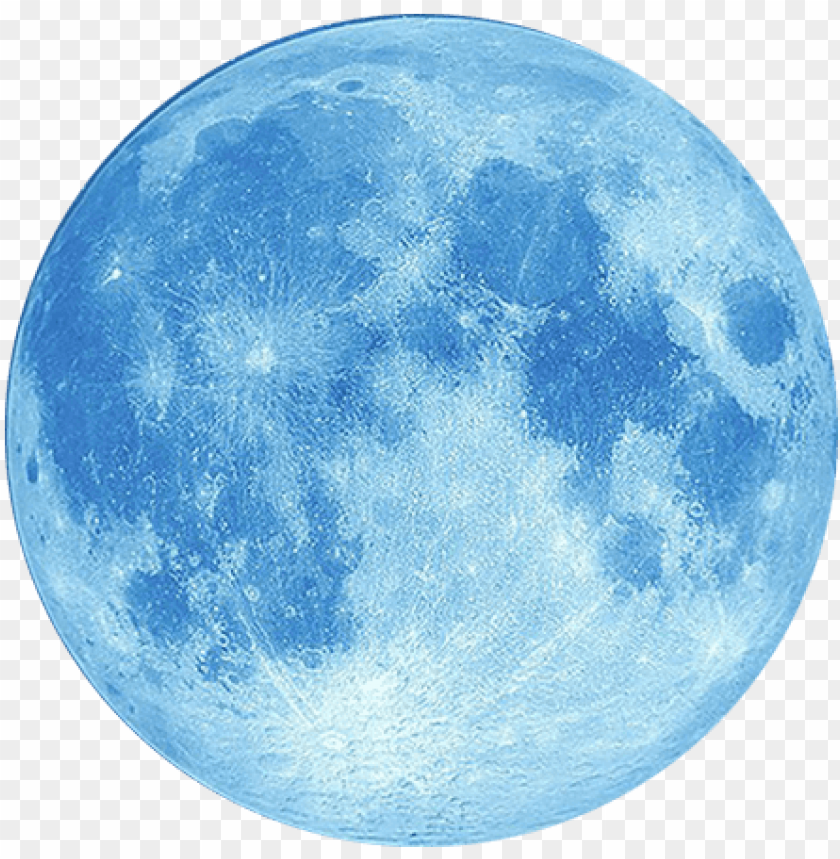 Half Yellow Moon Png Blue Moon White Background Png Image