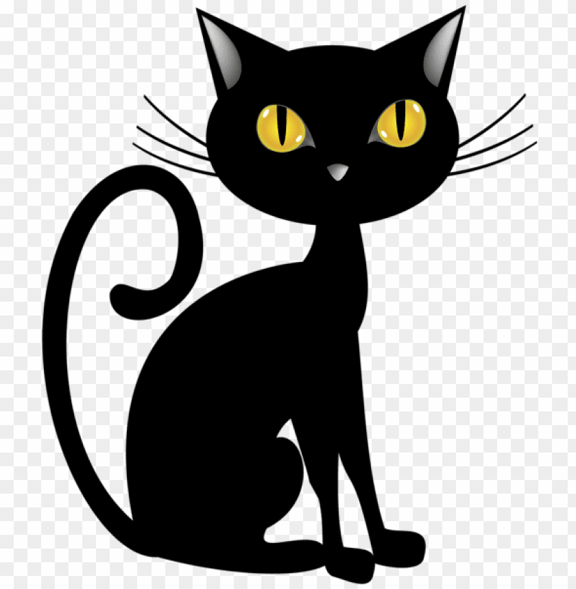 free PNG Download halloween black cat png images background PNG images transparent