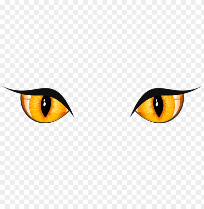 free PNG halloween cat eyes PNG images transparent
