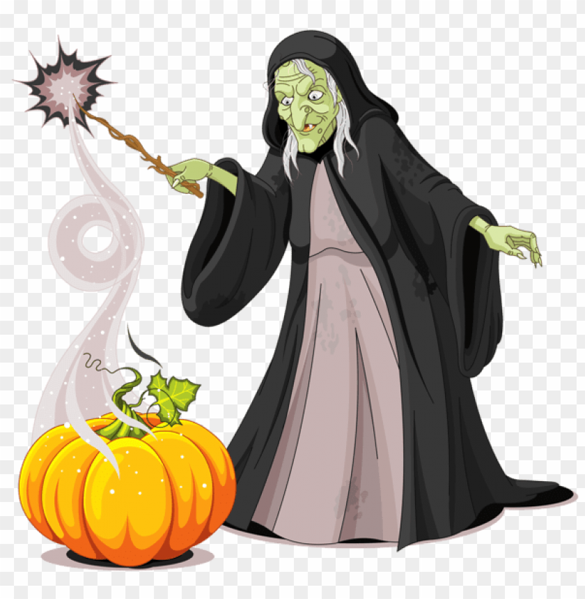 free PNG halloween creepy witch PNG images transparent