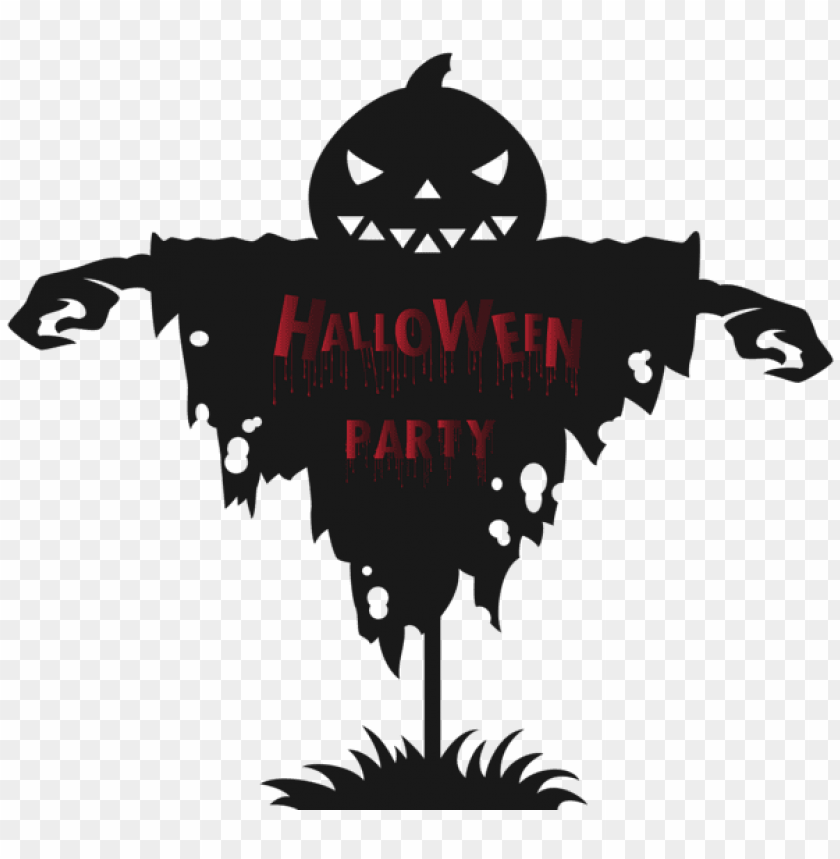 free PNG halloween party scarecrow PNG images transparent