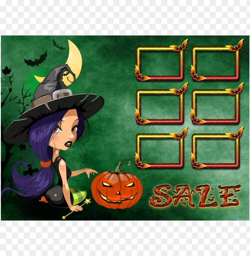 halloween sale purple witch background best stock photos
