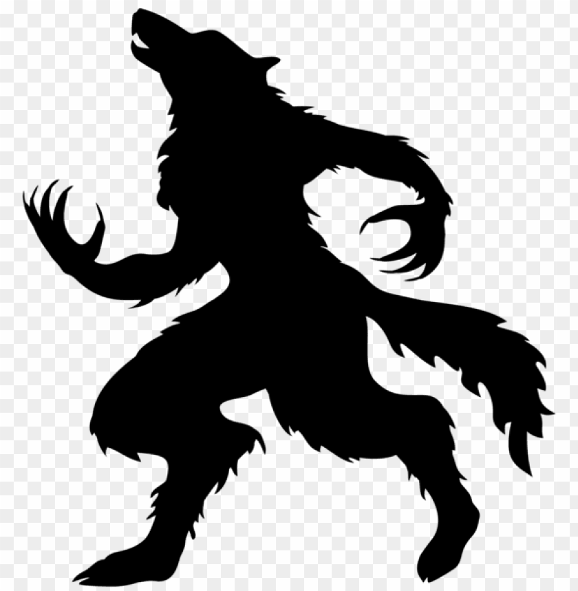 free PNG halloween werewolf silhouette PNG images transparent