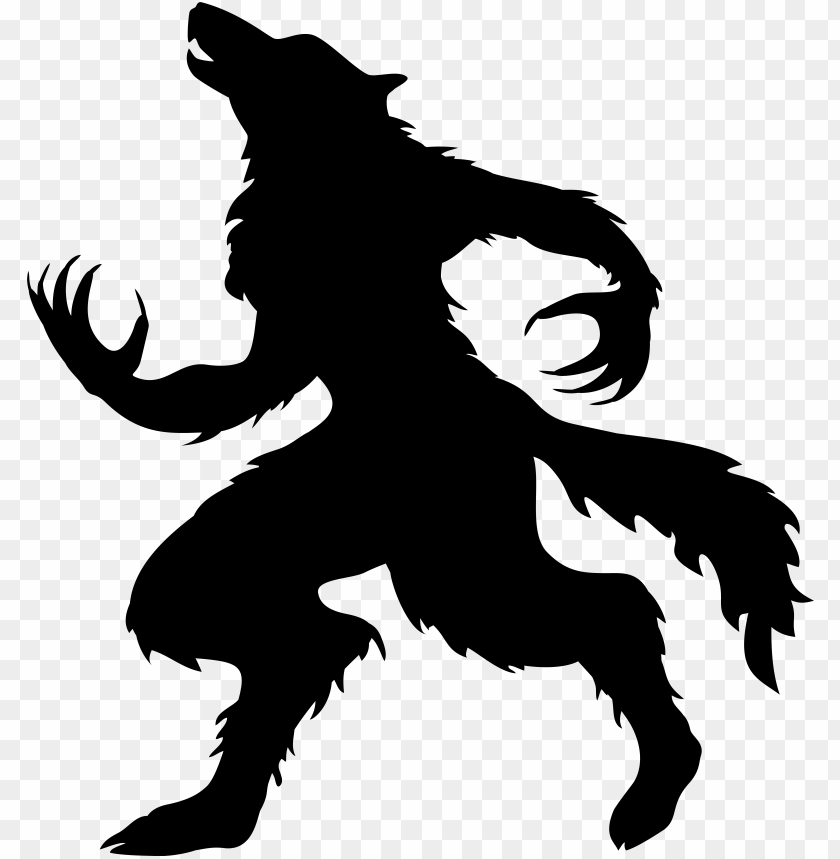 free PNG halloween werewolf silhouette image PNG image with transparent background PNG images transparent