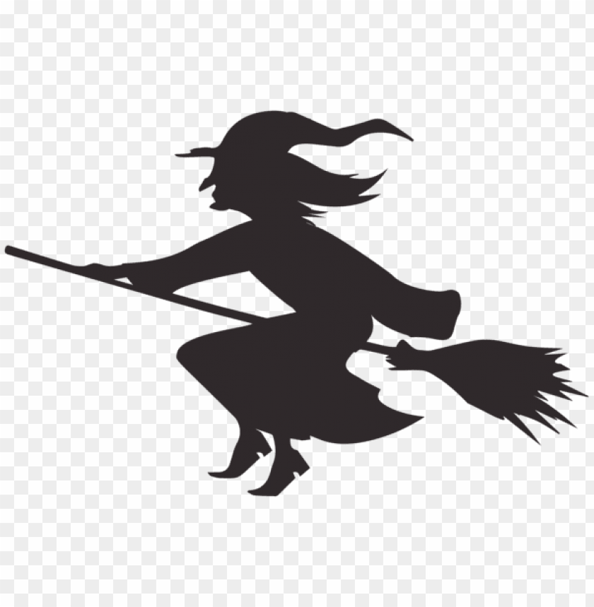 free PNG Download halloween witch silhouette png images background PNG images transparent