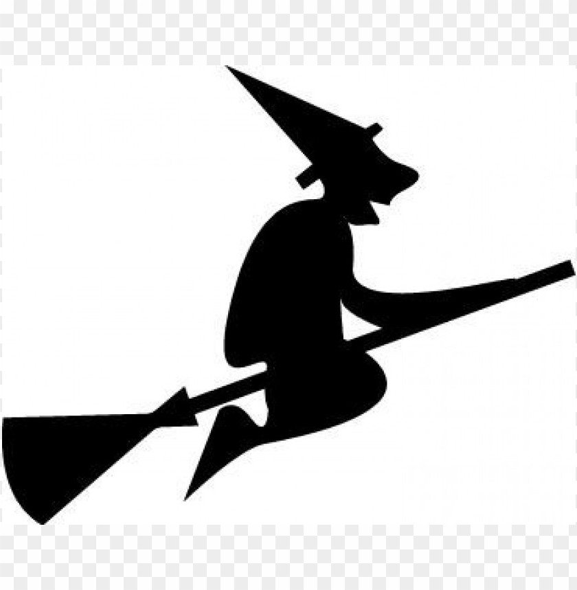 free PNG halloween witch silhouette  kid PNG images transparent