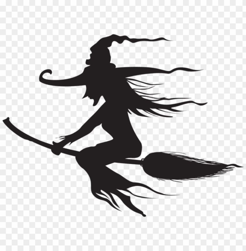 free PNG Download halloween witch silhouette png png images background PNG images transparent