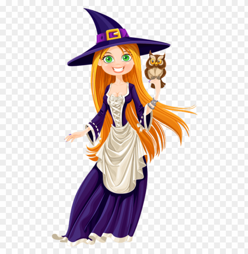 free PNG Download halloween witch with owl png images background PNG images transparent