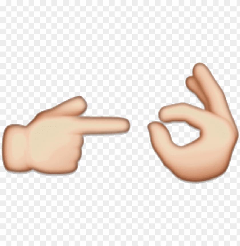Emoji Peace Sign Png - Keshowazo