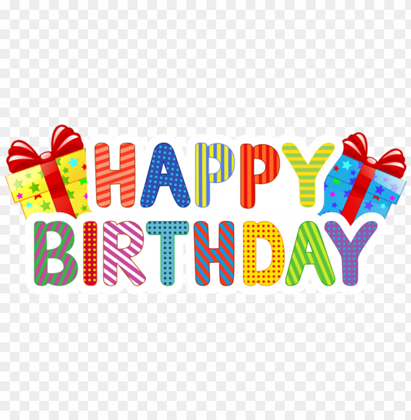 Download happy birthday png images background | TOPpng