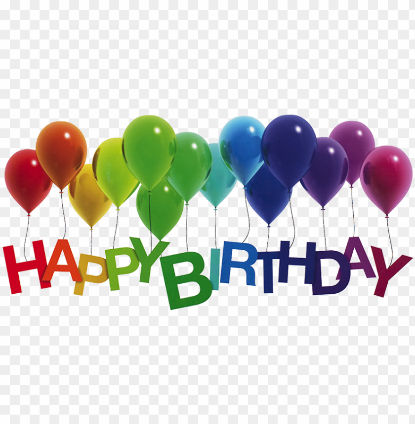 free PNG happy birthday, png - happy birthday balloons transparent PNG image with transparent background PNG images transparent
