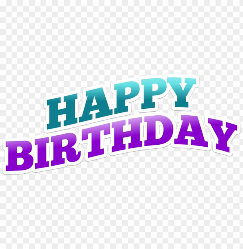 Happy Birthday Png Background